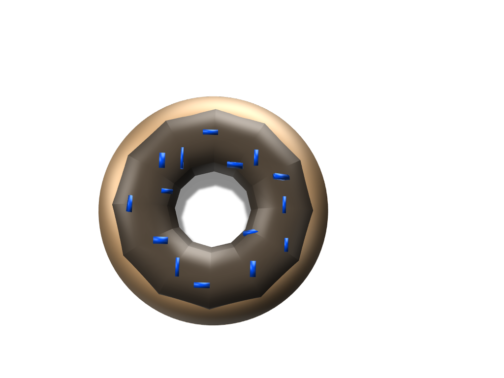 donut - 3D design by mikaylaroofner May 21, 2018