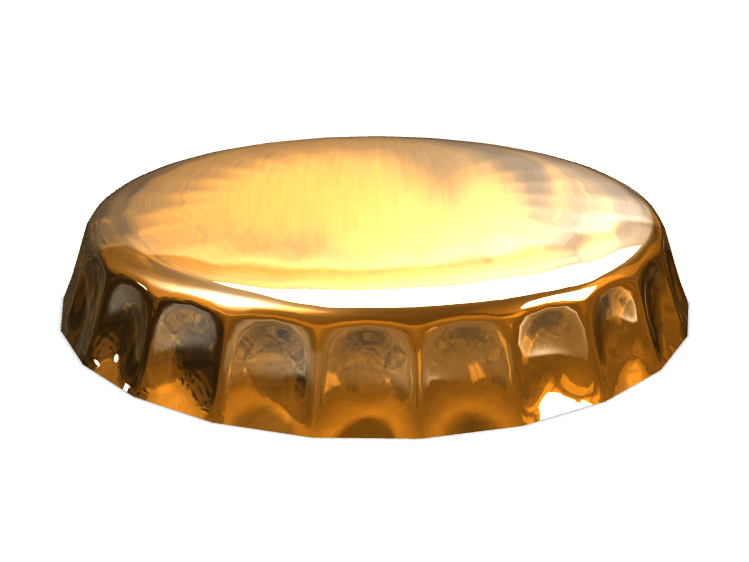 Bottle cap  - 3D design by ilmar3designs Nov 7, 2017