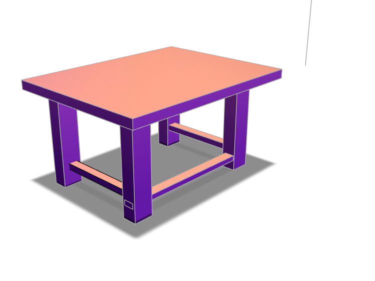 Standing Desk - 3D design by carsonblack1226 Jan 25, 2018