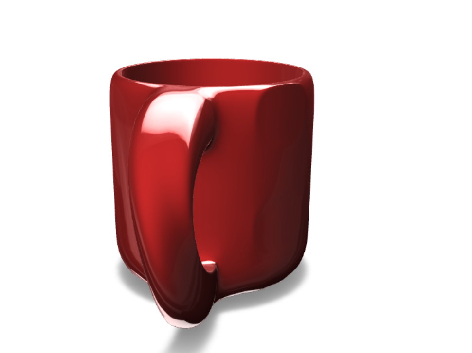 coffe cup - 3D design by Essam Tkl Aug 15, 2017