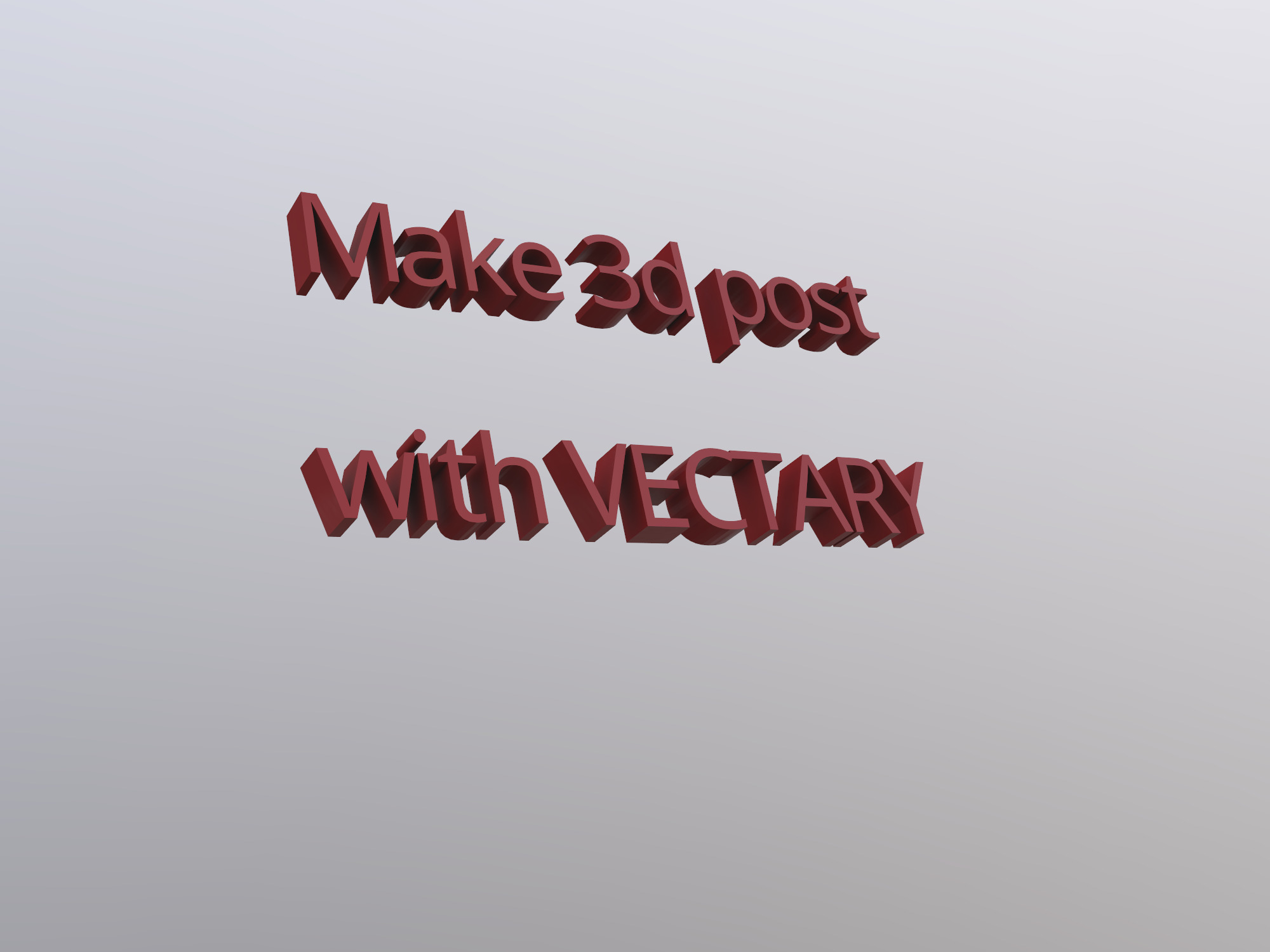 I like VECTARY - 3D design by Shane Cory Potter Jul 3, 2018