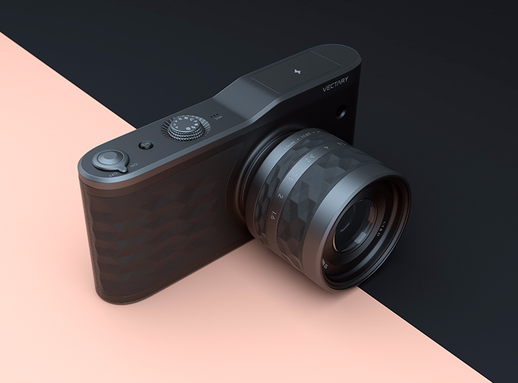 Camera design featured on leManoosh - 3D design by VECTARY Apr 1, 2017