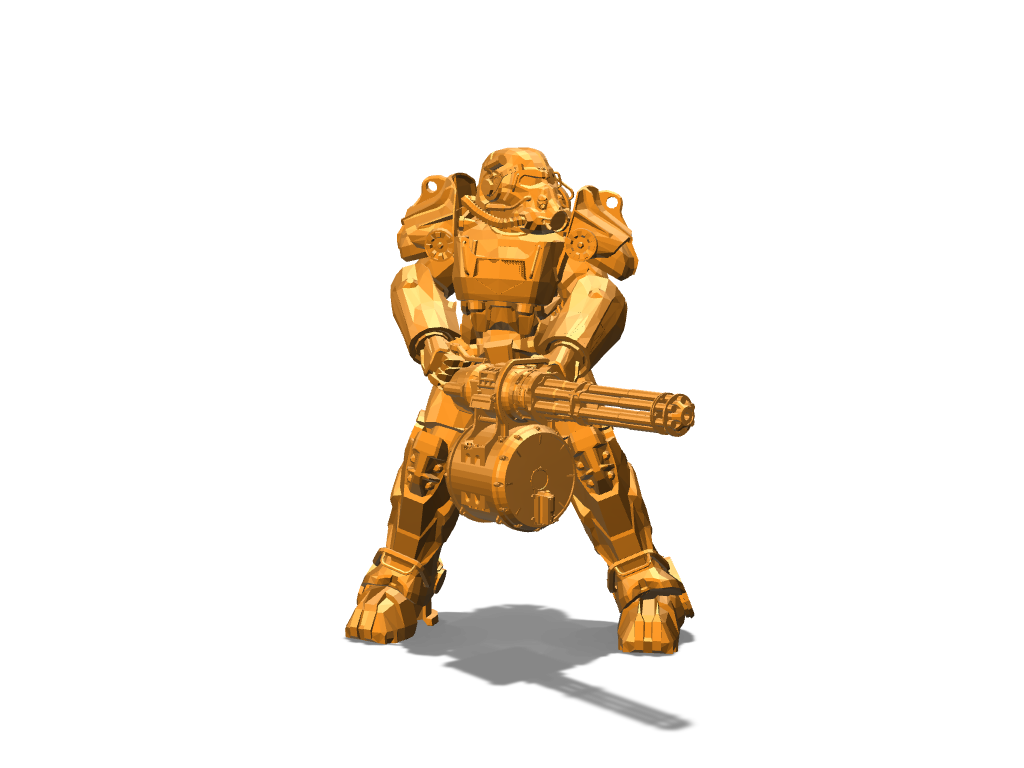 T60 Power Armor - 3D design by DBlea08 on Dec 11, 2017