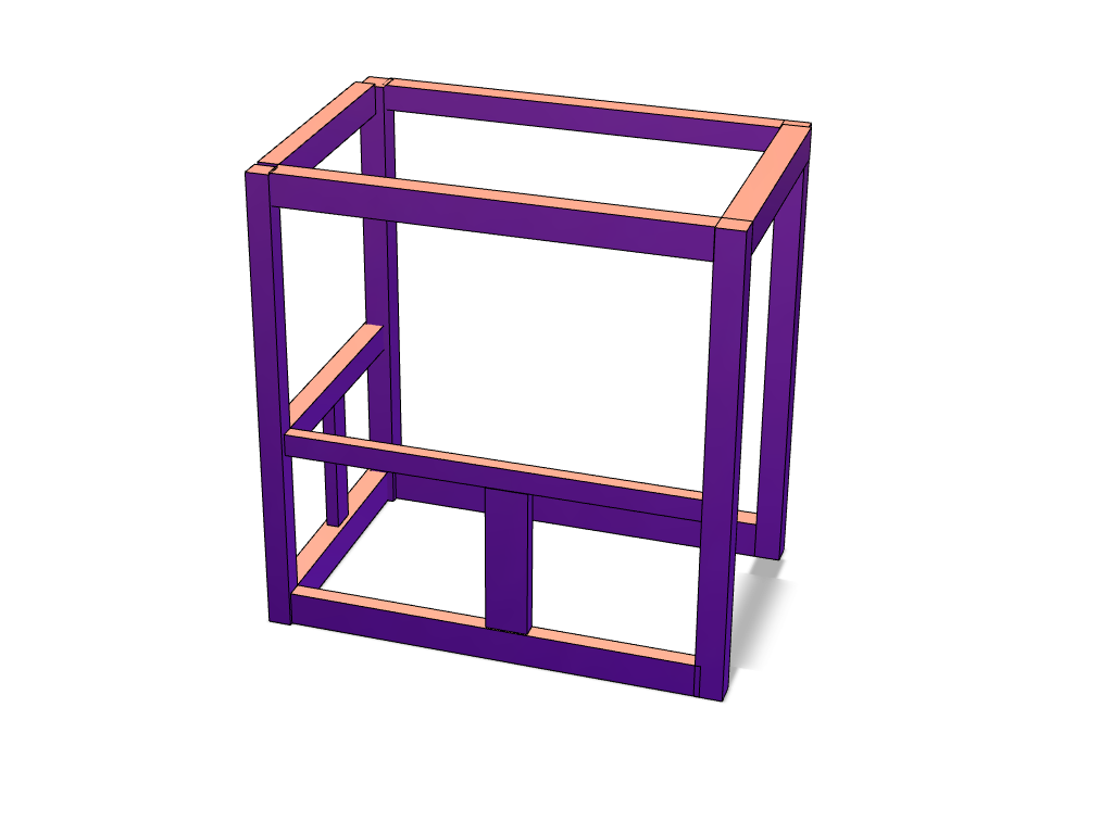 bar frame - 3D design by Davy Hall on Sep 2, 2017