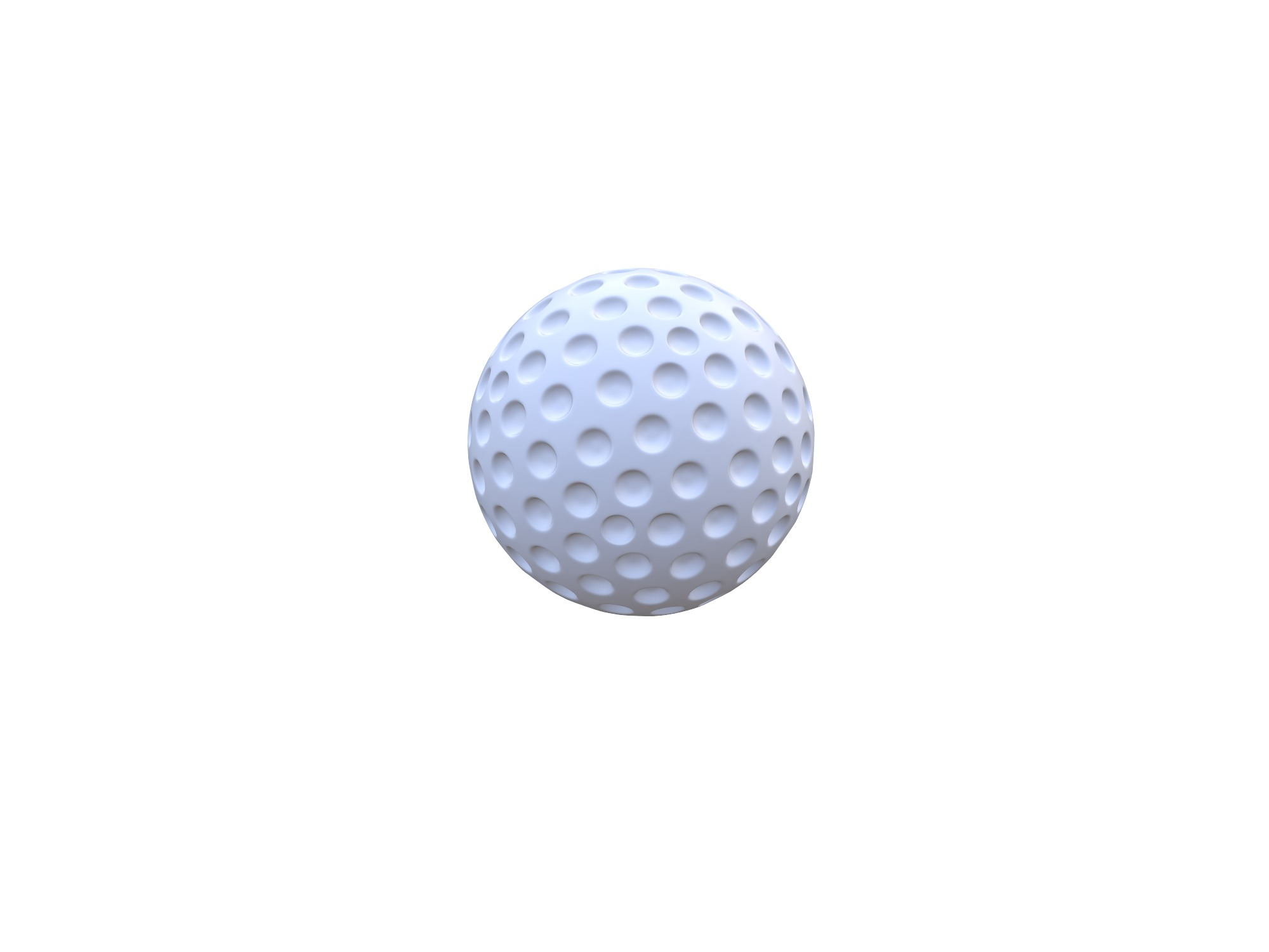 Golf Ball - 3D design by Vectary assets Jun 6, 2018