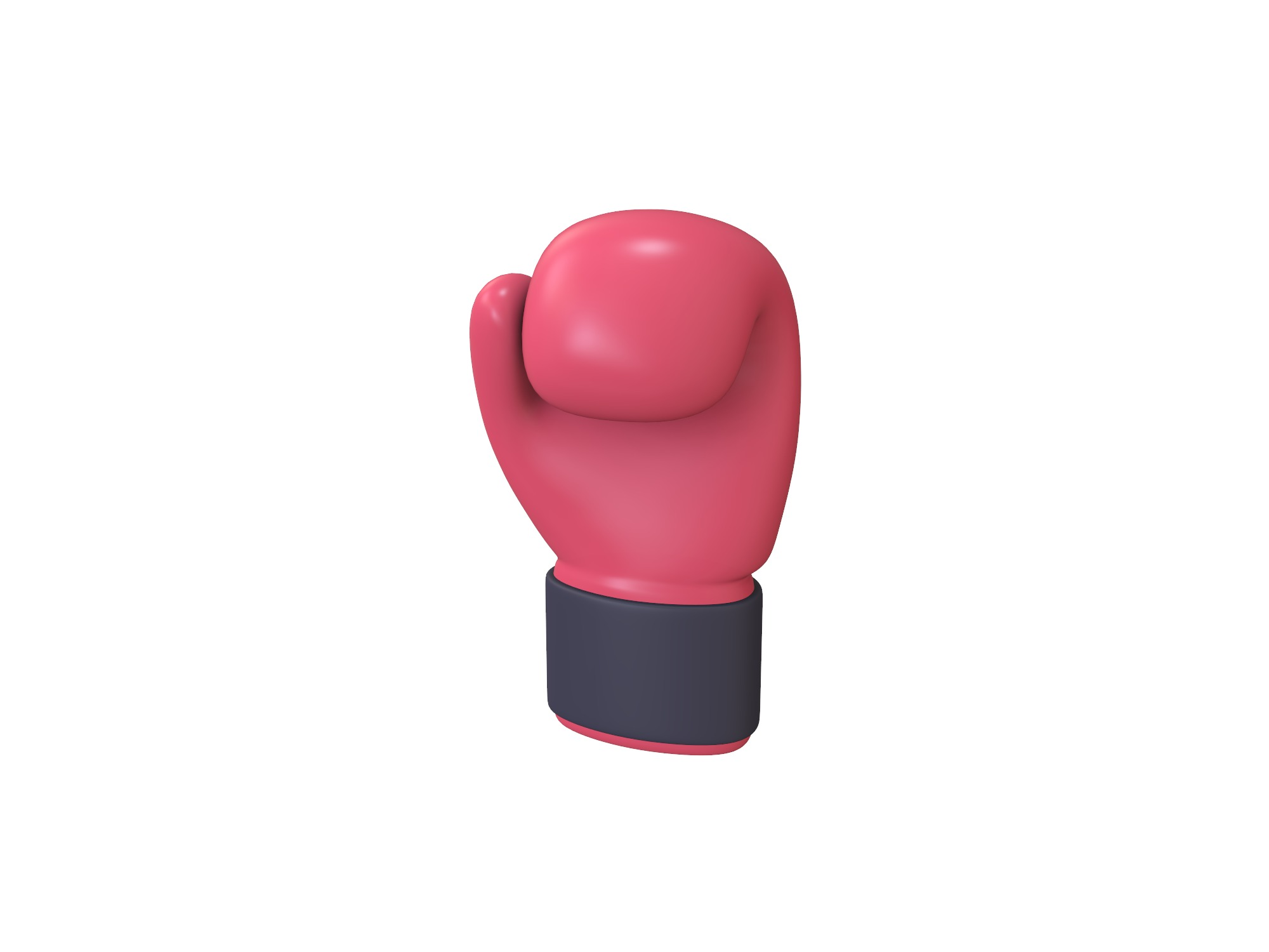 Boxing glove - 3D design by Vectary assets Jun 3, 2018