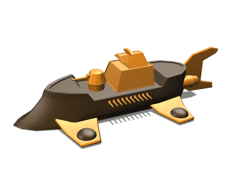 Airship - 3D design by Andrea Tosino on May 7, 2018