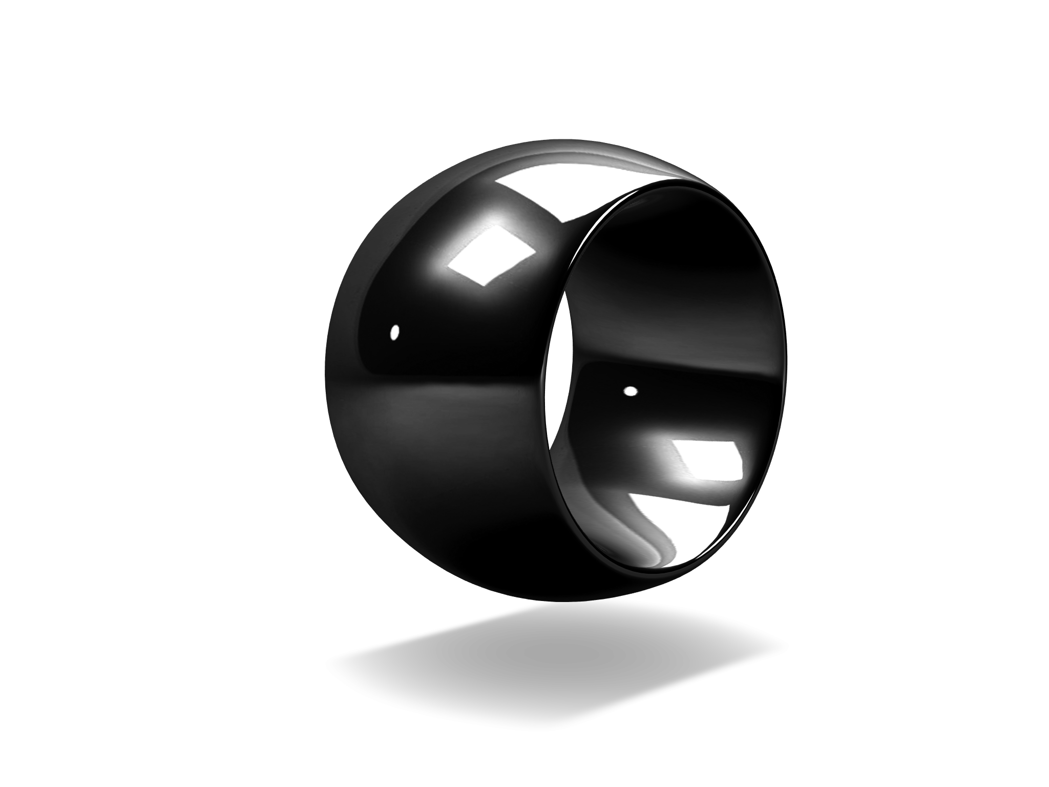 Bold Ring Black - 3D design by Adn Cetin on Dec 18, 2017
