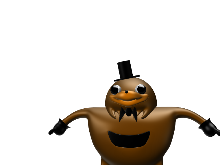 Ugandan Freddy - 3D design by 14201 on Feb 22, 2018