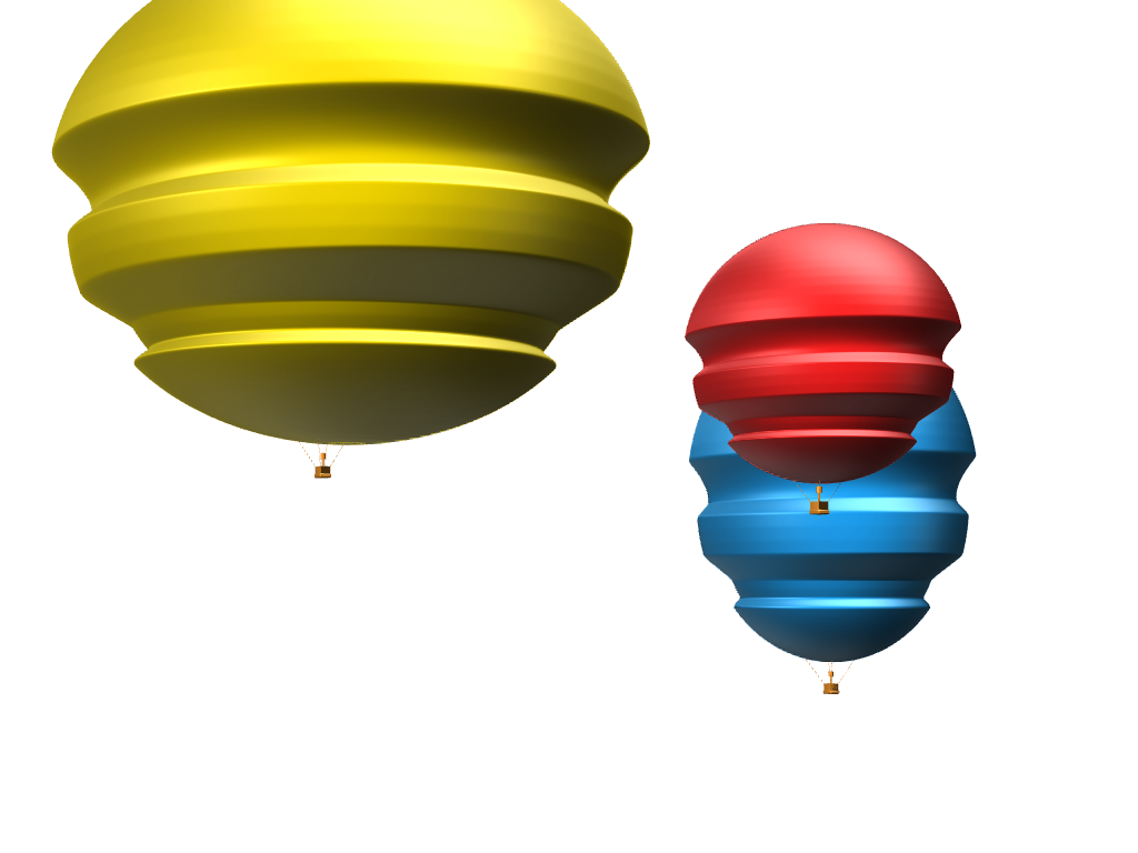 hot air baloon festival! 2version - 3D design by 6y.pasqualetto Apr 18, 2018