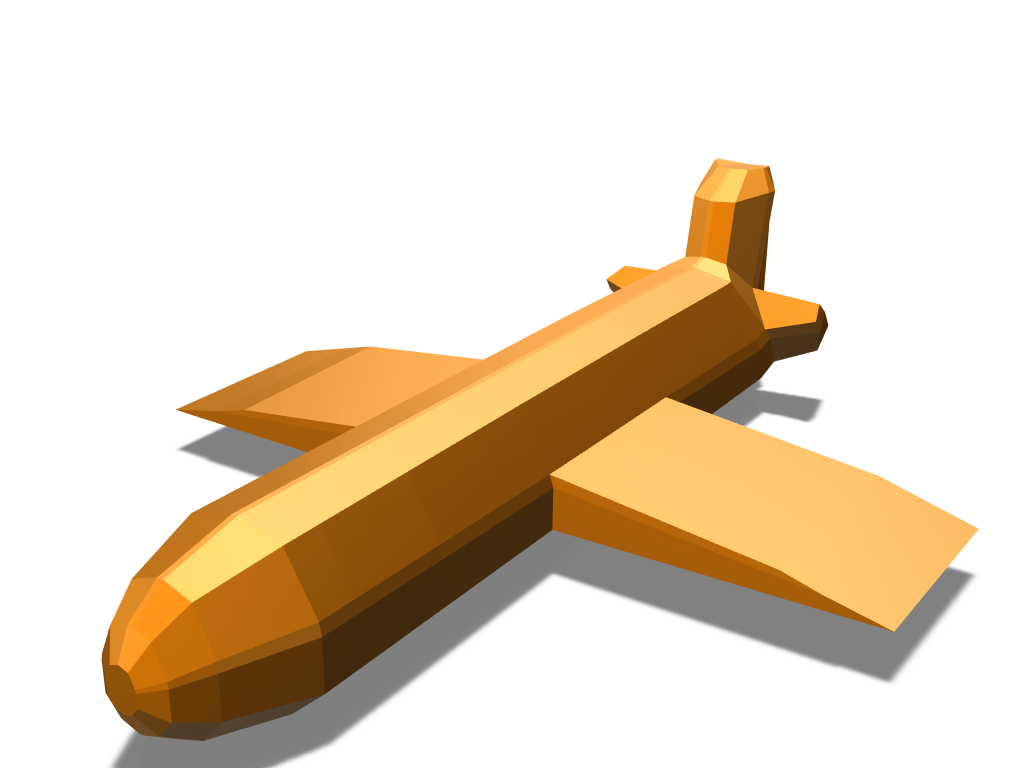 ShittyPlane - 3D design by Nagibator Igorevich on May 1, 2018