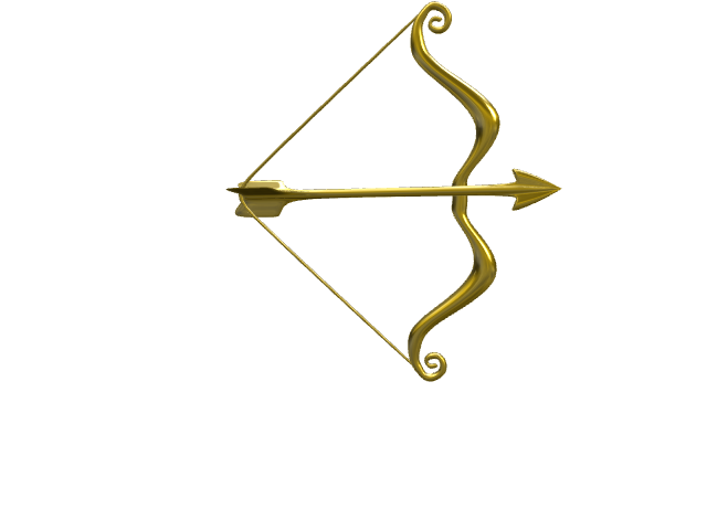 Bow and Arrow - 3D design by Jasna Mernik Jan 14, 2017