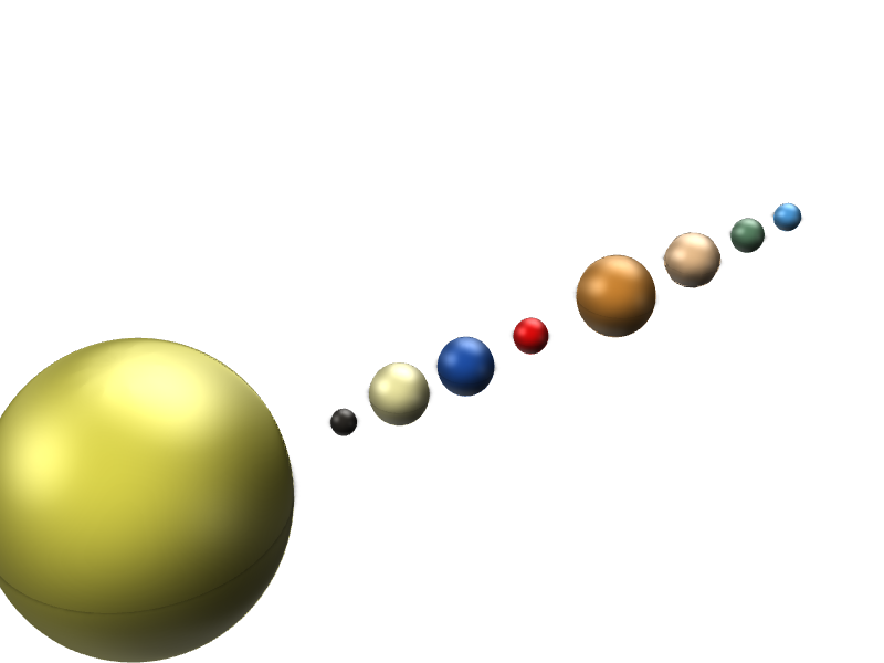 Solar System - 3D design by kgaster on Apr 27, 2018