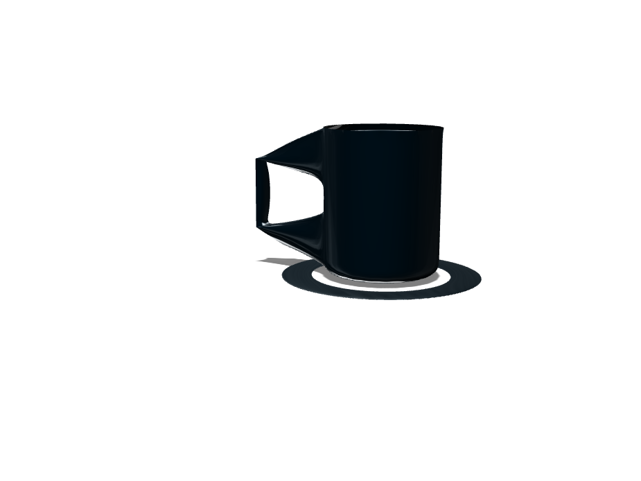taza bien dark! - 3D design by cristriker18.81 Sep 23, 2017