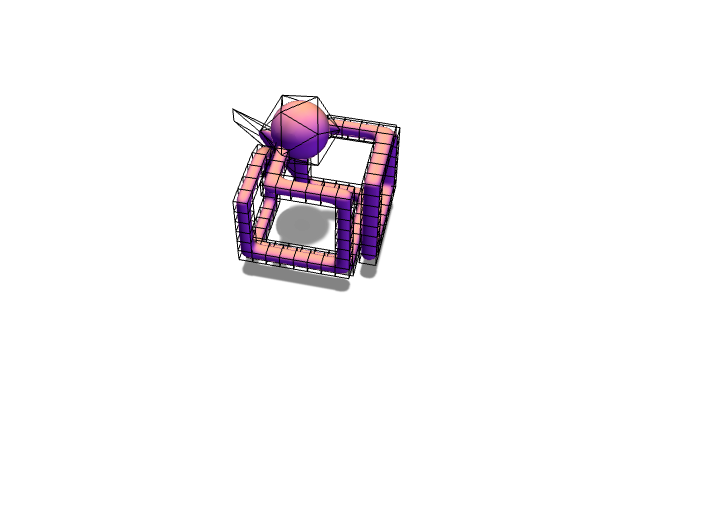 Cube wireframe - 3D design by tyler.maclean.2024 Dec 13, 2017