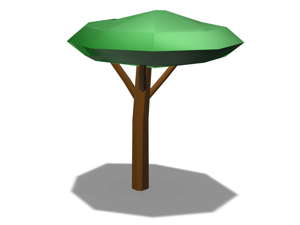low poly tree - 3D design by aukevandijk03 Jul 26, 2017