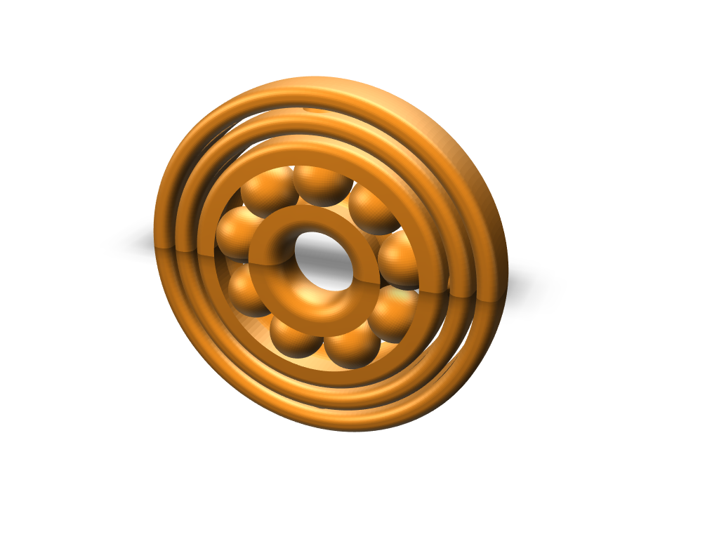 Fidget Spinner Spinner Spinner - 3D design by DBlea08 on Dec 12, 2017