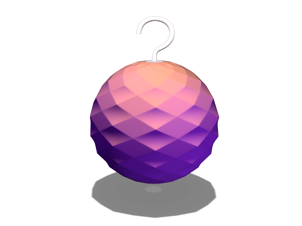 Bauble - 3D design by melenovic Dec 19, 2017