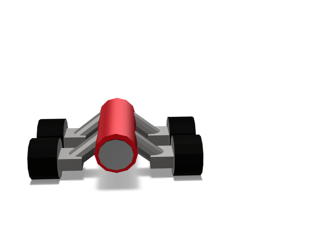 Heavy Cannon - 3D design by teshan5105 on Jan 27, 2018