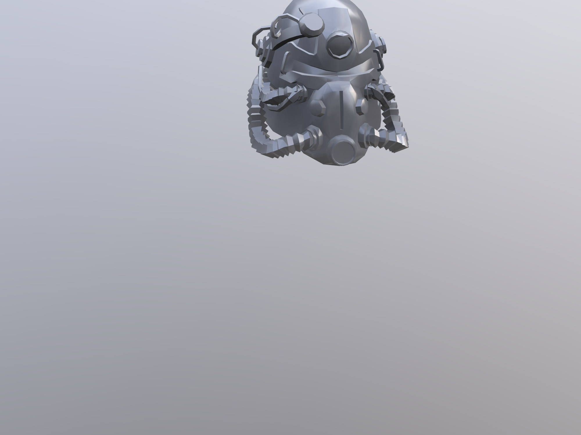 T51 Power Armor Helmet 3d Design By 16263 Oct 4 2018