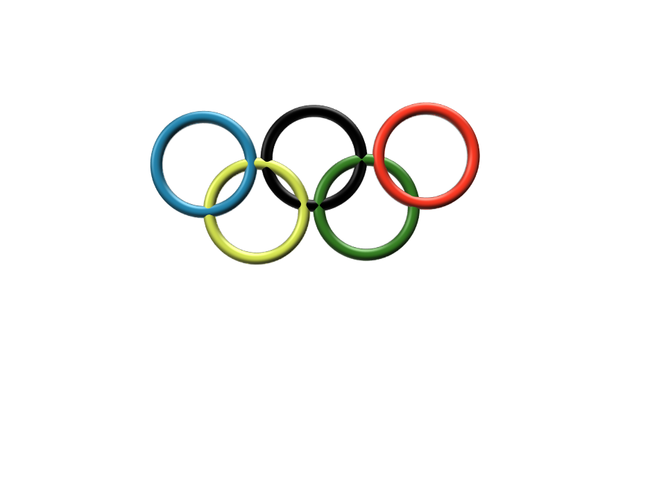 Olympic Rings - 3D design by fehser.tyler Jan 17, 2018