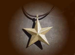 Simple Star Pendant - 3D design by naomi.kendall Sep 12, 2017