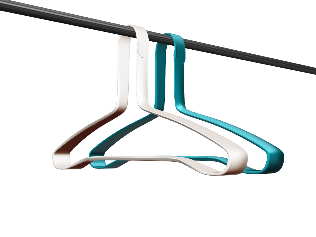 Clip Hanger - 3D design by Johnnyal on Oct 5, 2016