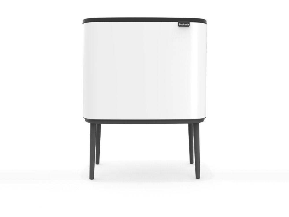 Bo Touch Bin - White - 3D design by danny on Oct 8, 2018