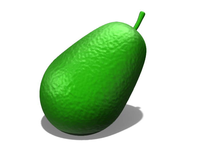 Avocado - 3D design by K.K. Studios on Mar 15, 2018