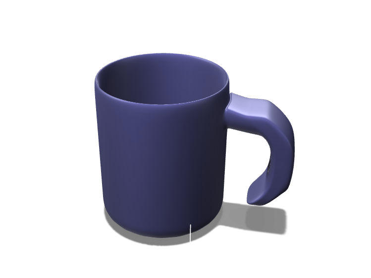 Coffee Mug - 3D design by Devyani Singh on Oct 8, 2017