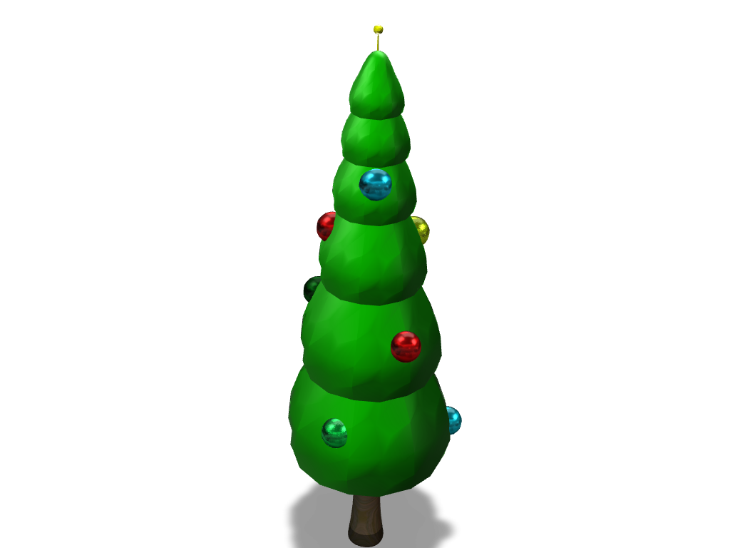 Christmas Tree - 3D design by leon.skalczynski Nov 11, 2017
