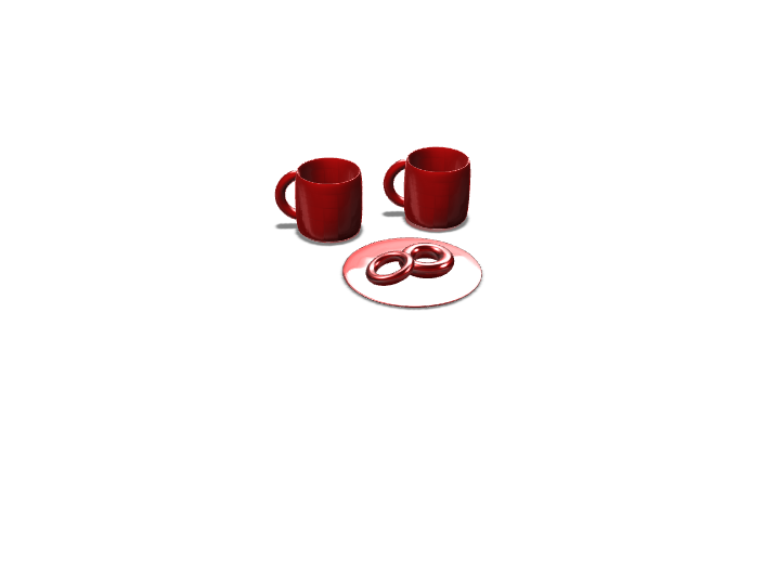 succ my mug 3: breakfast time edition - 3D design by craigpent on Dec 14, 2017