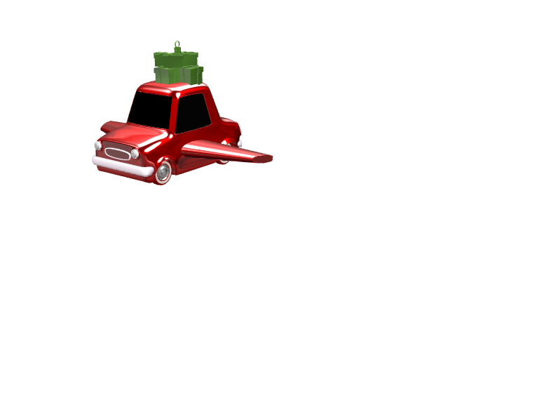 Santa's car  - 3D design by wbfnitzj19 Dec 6, 2017
