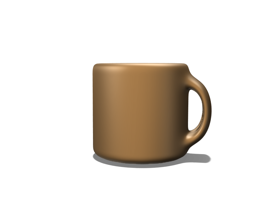 Coffeecup - 3D design by Lorna Ruth Thomas May 23, 2018