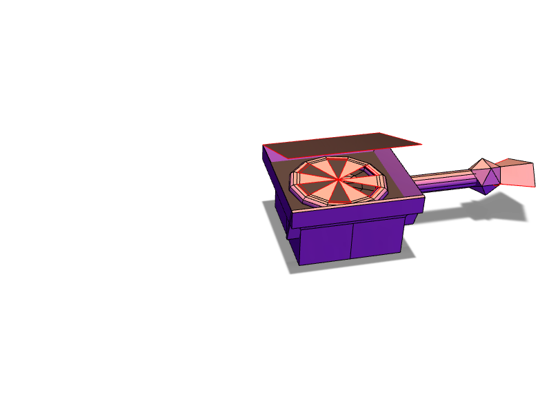 portable oven - 3D design by gavin.such May 4, 2018