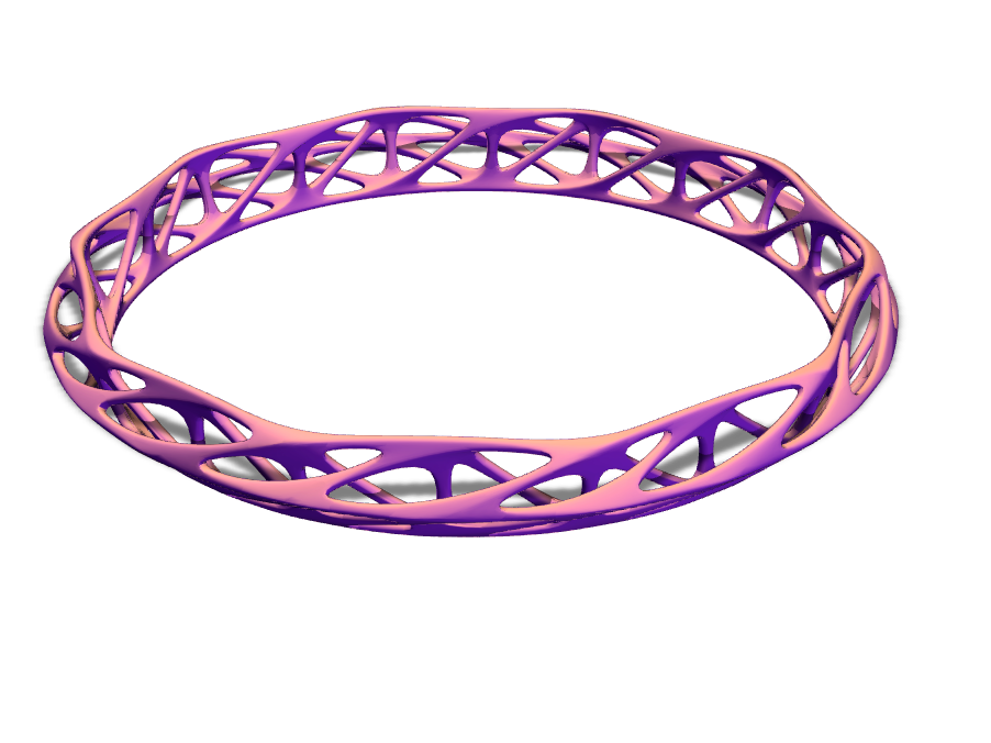 braceletjw - 3D design by paco Sep 12, 2017