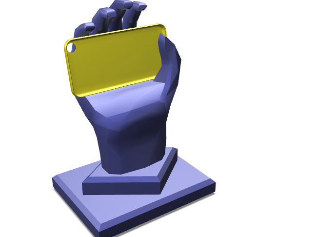 SmarthPhone Hand-Holder - 3D design by Alejandro Diaz Sep 14, 2017