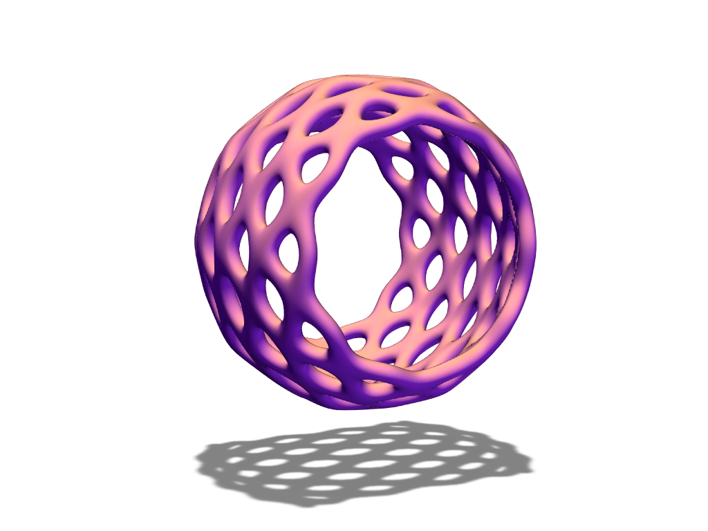 Only bauble - 3D design by baubleblaster Dec 22, 2017