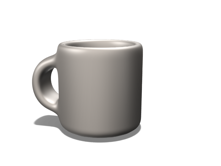 Nestor Cabral My first model - A coffee mug- - 3D design by ncabral21 on Nov 1, 2017