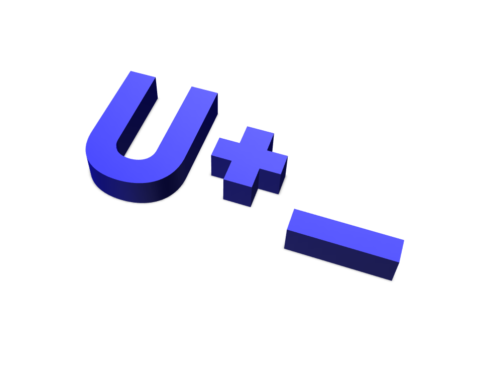 u+ - 3D design by Vasek Sramek on Feb 28, 2018
