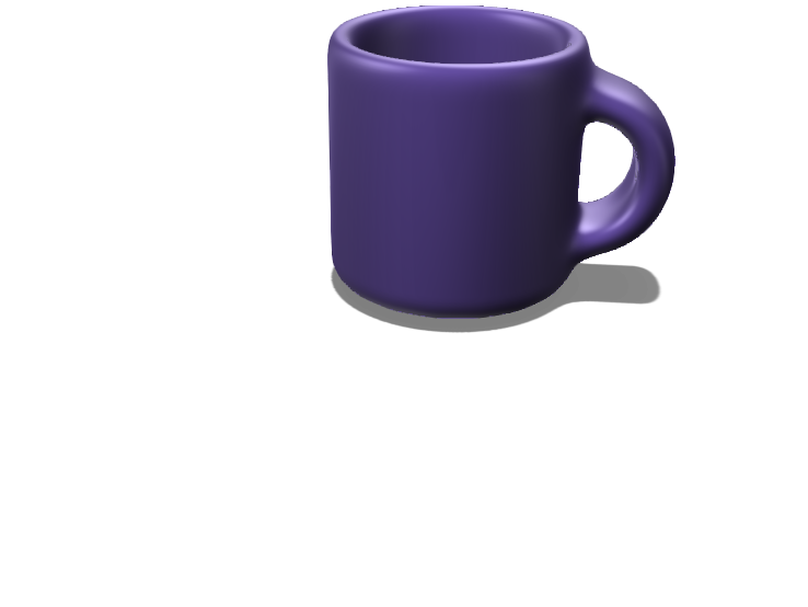 finished mug  - 3D design by 23haneya Mar 18, 2018