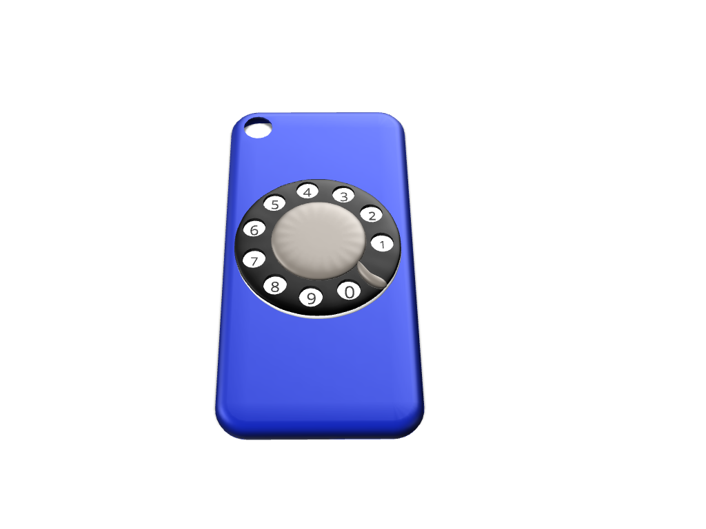 Spinning Rotary iPhone 7 cover (Updated) - 3D design by Maureen Nemetski Sep 12, 2017