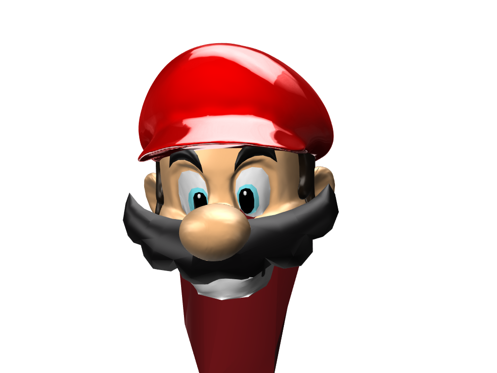 Smg4 Mario - 3D design by luketobinspain on Apr 16, 2018