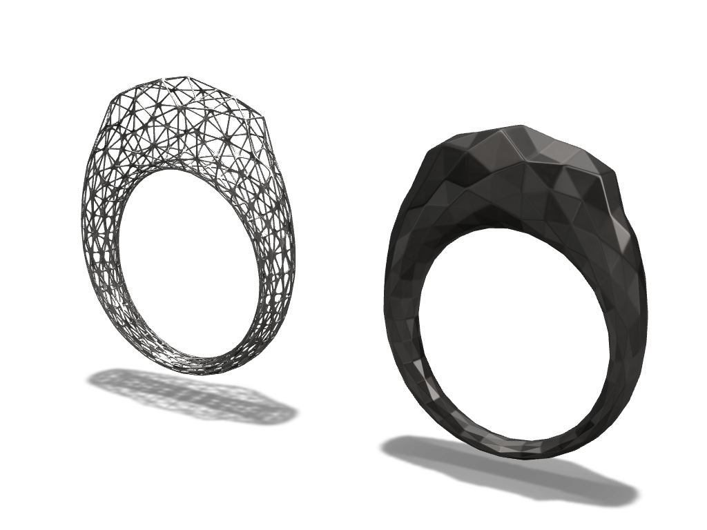 Rings - 3D design by Adrian Dec 15, 2016