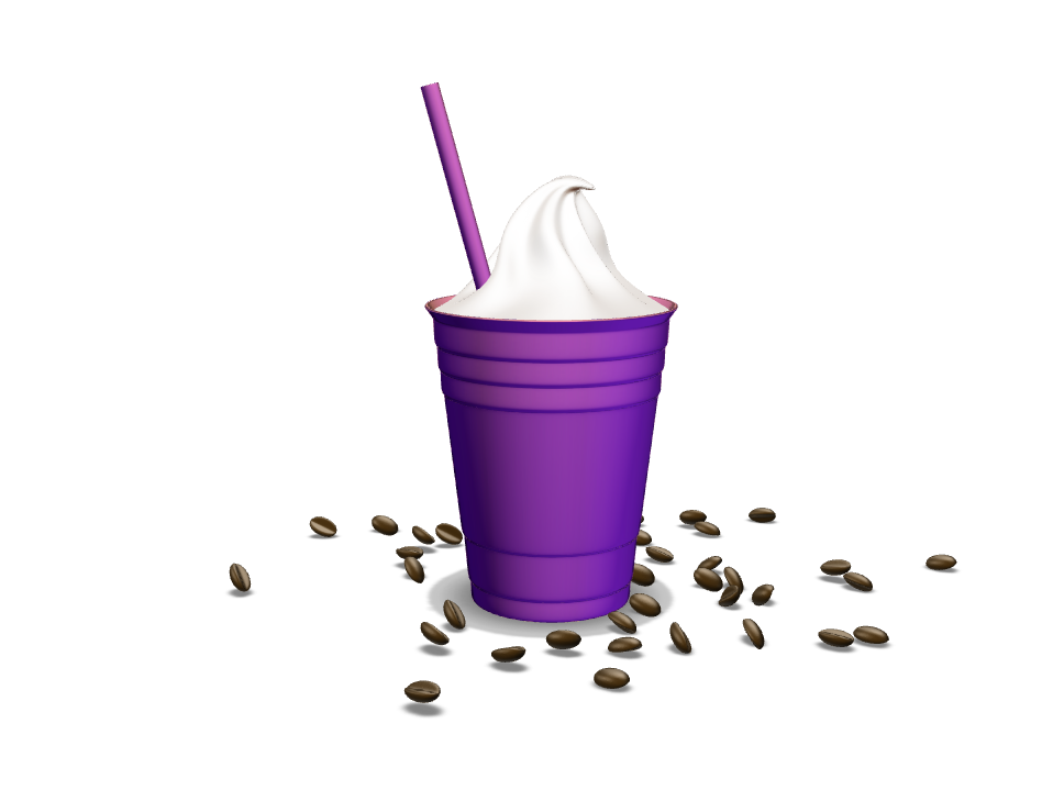 3D Mocha Coffee - 3D design by Milan Gladiš Mar 16, 2017