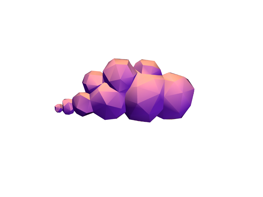 Low poly clouds - 3D design by VECTARY Sep 29, 2017