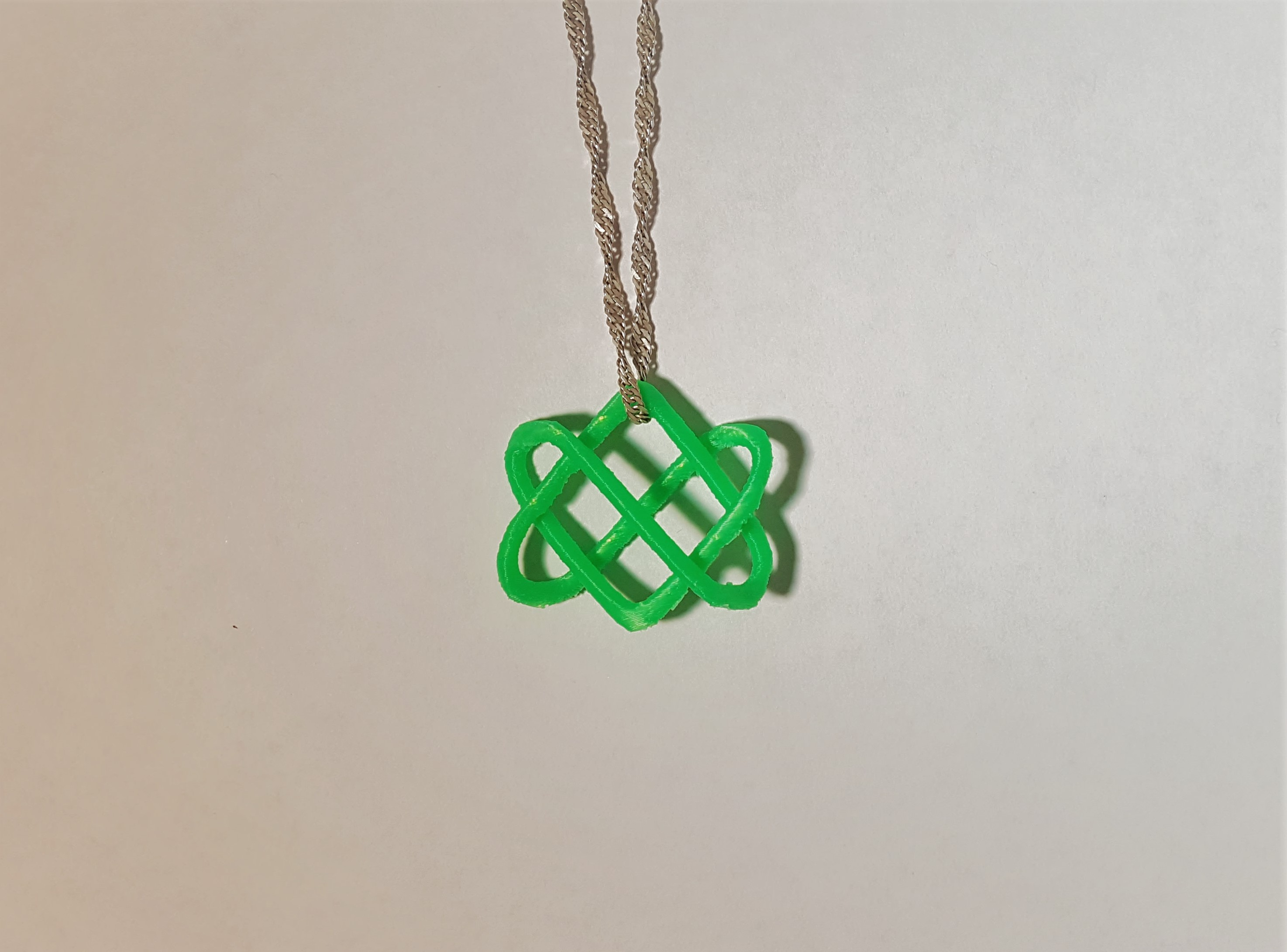 Celtic Love Knot - 3D design by Dan O'Connell Sep 13, 2017