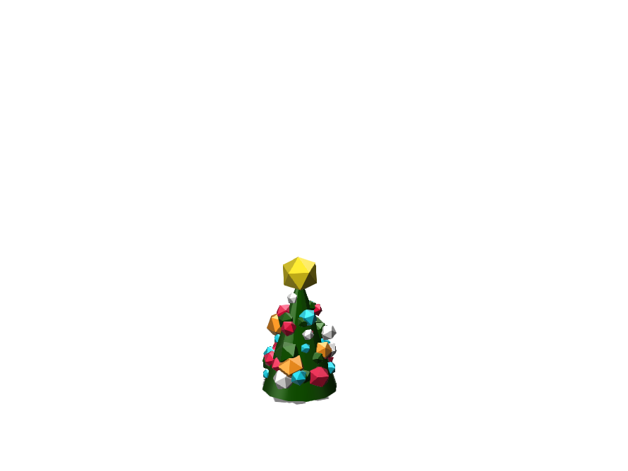 Christmas Tree - 3D design by Gabriel Lopez Dec 2, 2017