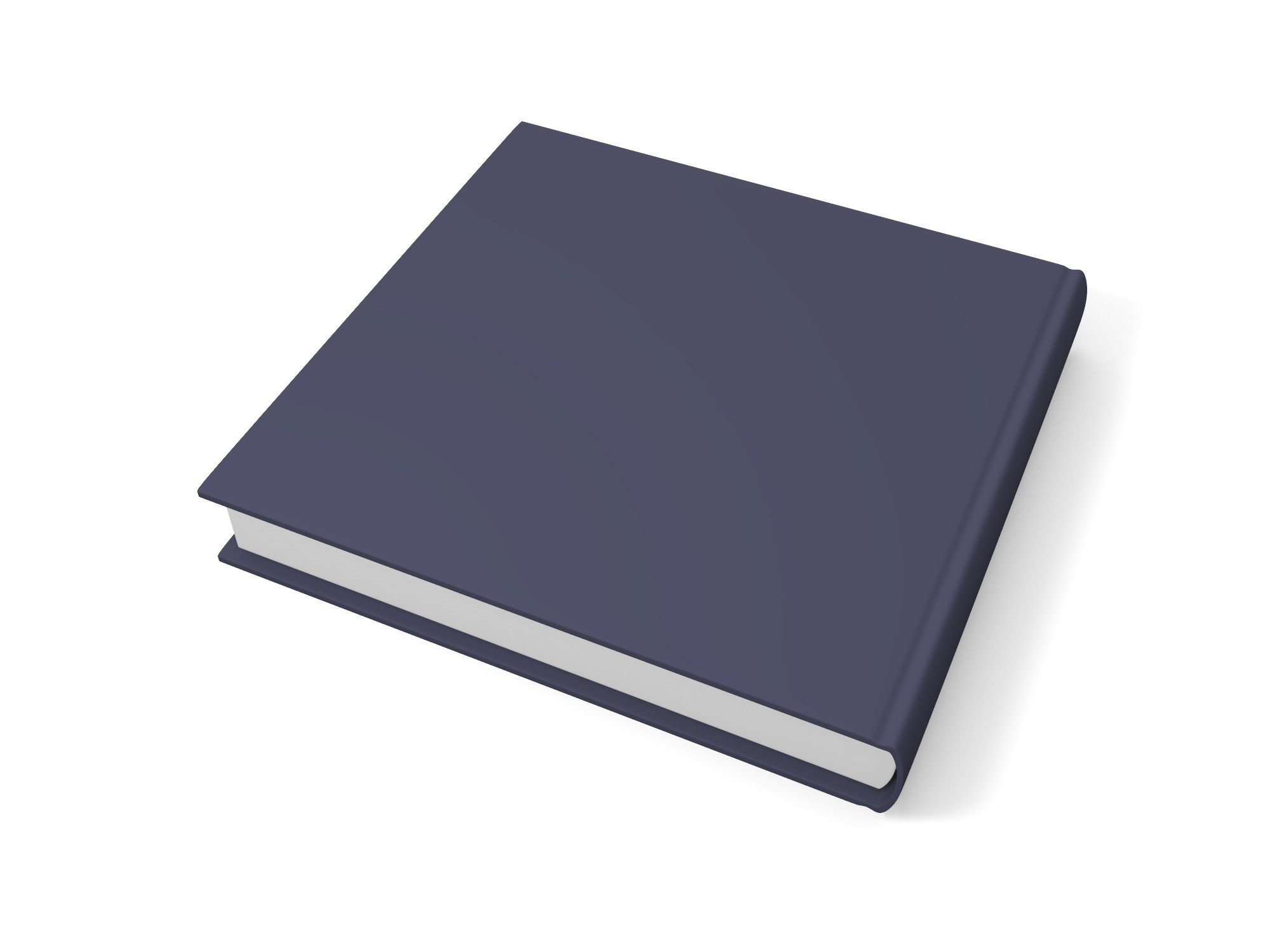 Thick square book - 3D design by assets Aug 20, 2018