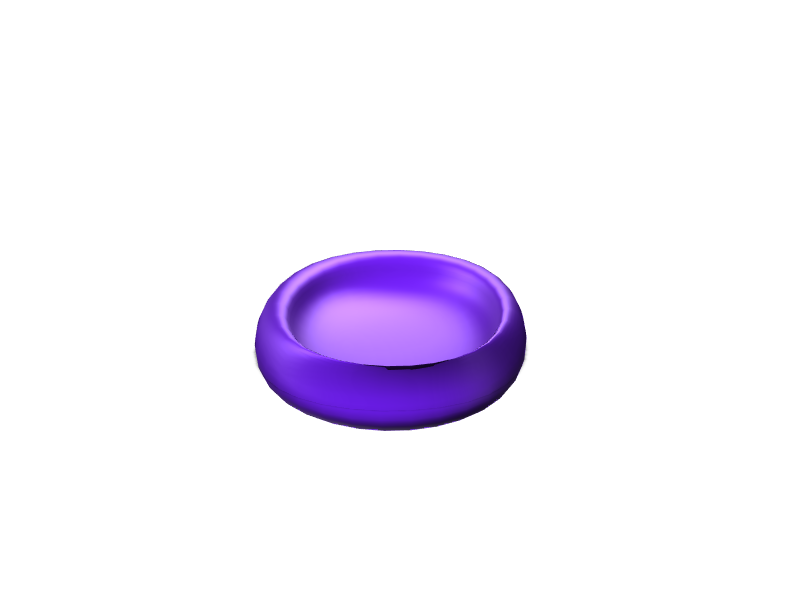 beginner bowl - 3D design by daylannacunningham on May 18, 2018